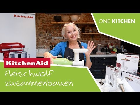 KitchenAid Fleischwolf   Teil 1: So wird der Fleischwolf zusammengebaut   by One Kitchen