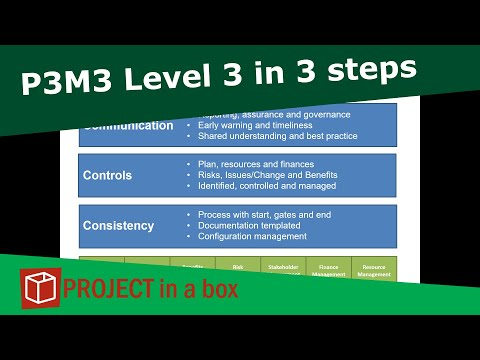 P3M3 - 3 top tips for getting to level 3 maturity quickly