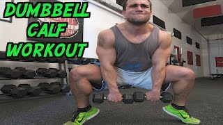 Intense 5 Minute Dumbbell Calf Workout by Anabolic Aliens