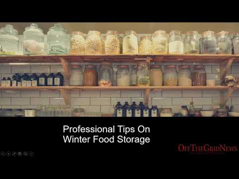 Professional Tips On Winter Food Storage