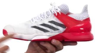 Ανδρικά παπούτσια τένις Adidas Adizero Ubersonic 3 Clay video