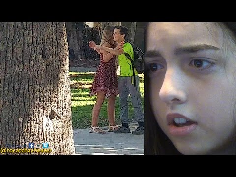 Young Girl setups her 13 Year old Boyfriend to see if he'll cheat!