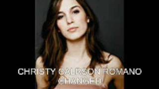 CHRISTY CARLSON ROMANO - CHANGED
