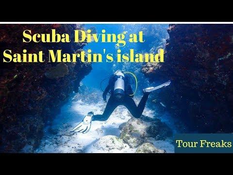 Scuba Diving at Chera Dip, Beautiful Underwater Saint Martin's island, Daruchini Dip | Bangladesh