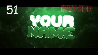 TOP 100 Intro Template #62 Cinema 4D, After Effects Free Download