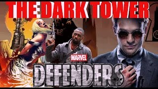 THE DARK TOWER AND THE DEFENDERS NEWS RATED R REVIEWS NETFLIX