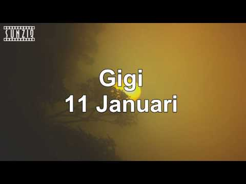 Gigi - 11 Januari (Karaoke Version + Lyrics) No Vocal #sunziq - SunZiq Official