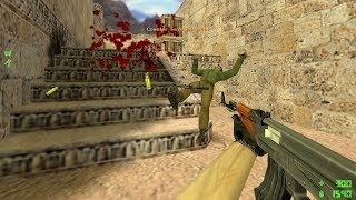 CS 1.6 - Pro Gameplay on de_dust2