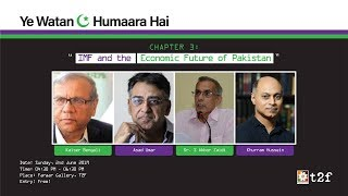 IMF & the Economic Future of Pakistan | Panelists | Asad Umar, Kaiser Bengali, Dr. S. Akbar Zaidi