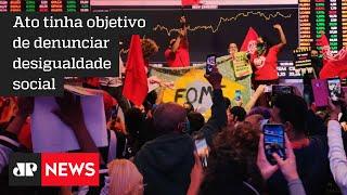 MTST invade a bolsa de valores em protesto contra a fome em SP