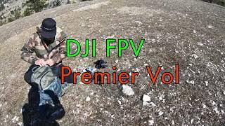 DJI FPV, le premier vol par VTT-a-2
