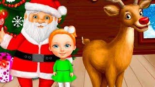 Салон Красоты для Санта Клауса.Подготовка к Новому Году Начинается.Новогодняя Игра как Мультик