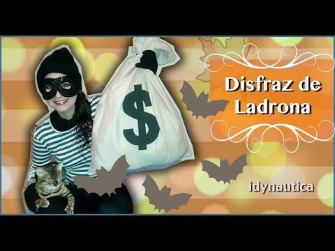 $$$ Disfraz a ultimo Momento: Ladrona // DIY: ROBBER/ BUGLAR $$$