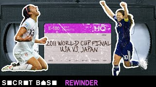 The 2011 USA-Japan Women's World Cup final had a wild finish that needs a deep rewind thumbnail