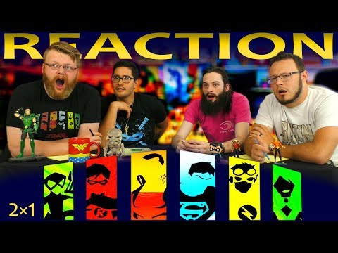 Young Justice 2x1 REACTION!!