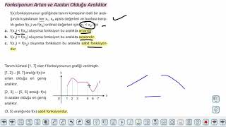 Eğitim Vadisi 11.Sınıf Matematik 8.Föy A) Fonksiyonlarla İlgili Uygulamalar Konu Anlatım Videoları