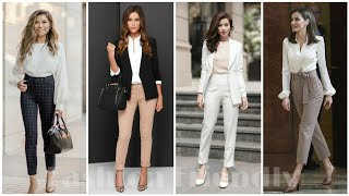Office Wear Formal Outfit Ideas 2019 || Formal Outfit Ideas For Girls - Fashion Friendly