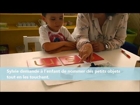 Méthode Montessori 3 : Associer les lettres aux sons
