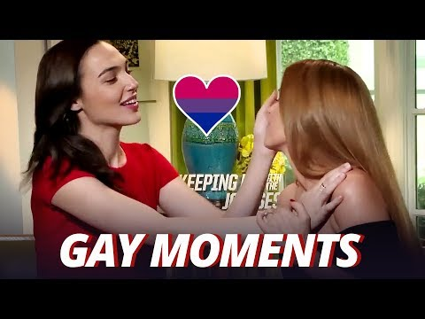 IS GAL GADOT GAY OR WHAT?!