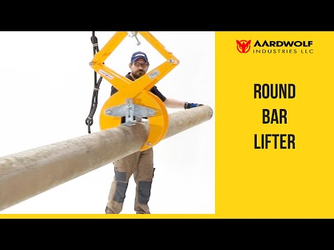Lifting Clamp for Round Bar