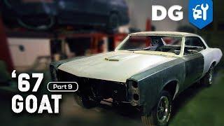 METALWORKING 67 Pontiac GTO Restoration Part 9
