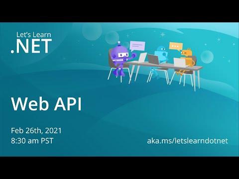 Let's Learn .NET - Web API