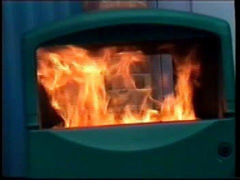 Sistema contra incendio para Cestos