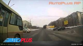 Обезьяна за рулем авто или Олени на дорогах - Дтп, Аварии видео от AutoPlus AP
