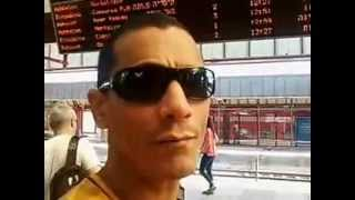 preview picture of video 'Fernando Pangaré embarca em trem em Netanya/ISL, rumo a Telaviv.'