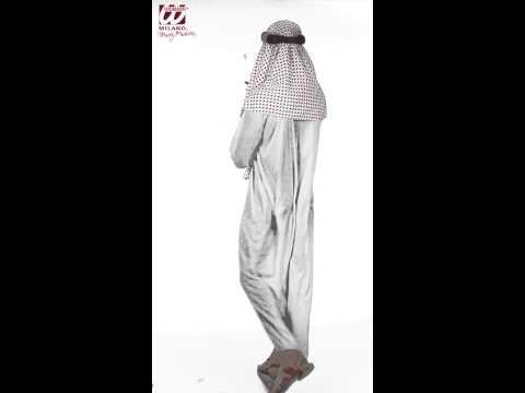 Disfraz de Jeque Arabe Blanco.