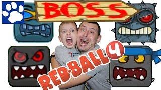 RED BALL 4 | ПРОХОДИМ ВСЕХ БОССОВ | КРАСНЫЙ ШАРИК ПОБЕЖДАЕТ БОССОВ | Матвей Котофей Ред Бол