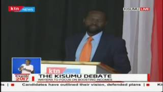 Prof. Nyong'o responds to the reason to food crisis in Kisumu, The Kisumu debate