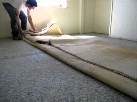 How To Remove Nasty Old Carpet