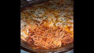 How To Cook: Baked Spaghetti (Million Dollar Spaghetti Recipe)