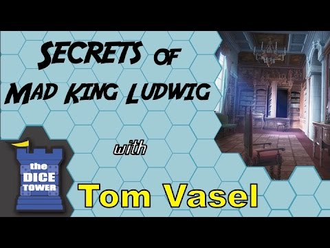 Dice Tower Reviews: Secrets of Mad King Ludwig