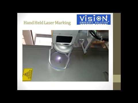 Hand Held Laser Marking Machine
