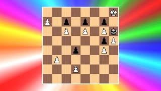 A Little Chess Magic | Cool Chess Puzzle #1 (Bodo Van Dehn)