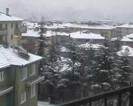 Çankırı'da kış