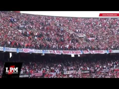 """""""Cargadas a Independiente - River vs Independiente - Torneo Final 2013"""" Barra: Los Borrachos del Tablón • Club: River Plate • País: Argentina"""