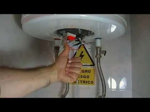 CUAL ES EL CONSUMO ELECTRICO EN AMPERIOS DE UN TERMO CALENTADOR  - BOILER