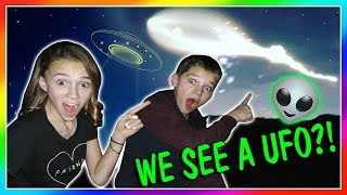 WE SEE A UFO IN THE SKY! | We Are The Davises