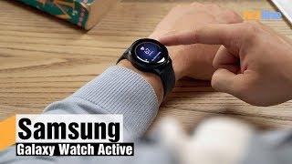 Смарт-часы Samsung Galaxy Watch Active Gold (SM-R500NZDA) от компании Cthp - видео 1