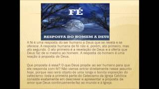 Terceiro Vídeo Aula sobre o Catecismo da Igreja