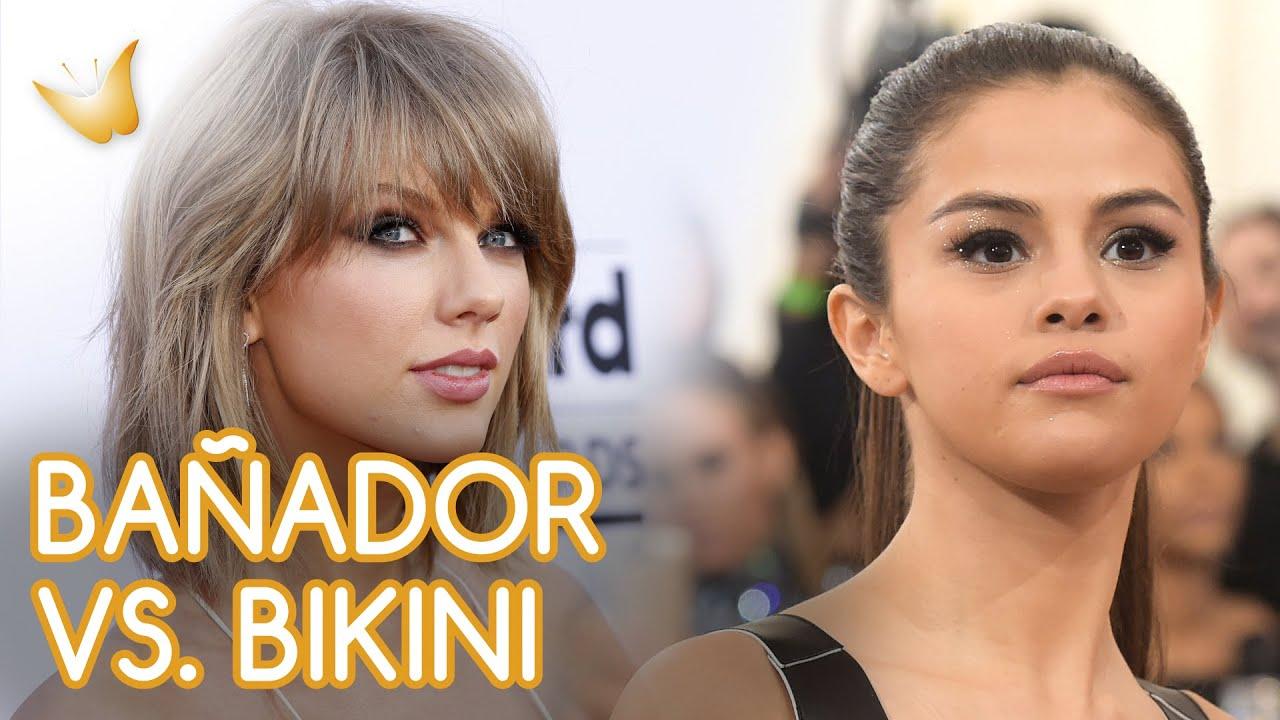 Taylor Swift y Selena Gomez | Bañadores vs biquinis de famosas