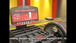 Грузовой балансировочный стенд Trommelberg CB1448 от компании Karcher и Nilfisk Alto - видео