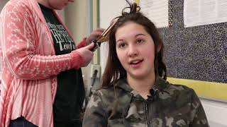 Free Prom Salon Held for Students