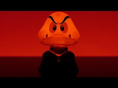 Lampka Super Mario 3D Goomba