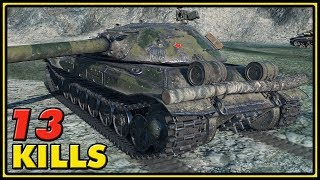 Object 705 - 13 Kills - World of Tanks Gameplay
