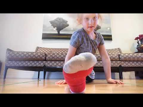 How to do the splits with Ava