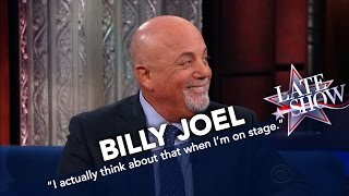Billy Joel on 'The Late Show with Stephen Colbert' Interview (Part 2 – January 9, 2017) Video